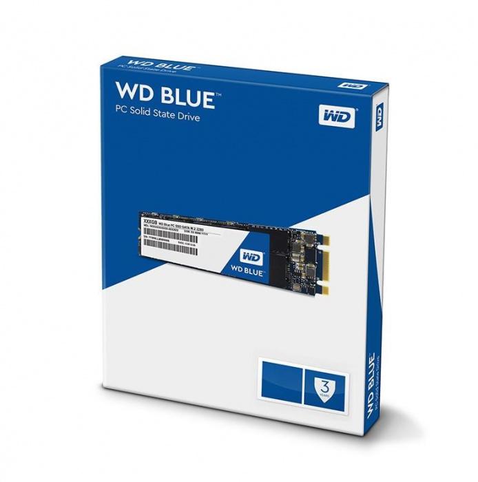 Western, Digital, Blue, 2TB, 3D, NAND, M.2, 2280, SSD, 560/530, R/W., 3, Years, Warranty,