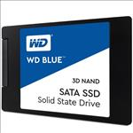 Western, Digital, Blue, 500GB, 2.5, 3D, NAND, SSD, 7MM, 550/530, R/W, SATA, 6GB., 5, Years, Warranty,