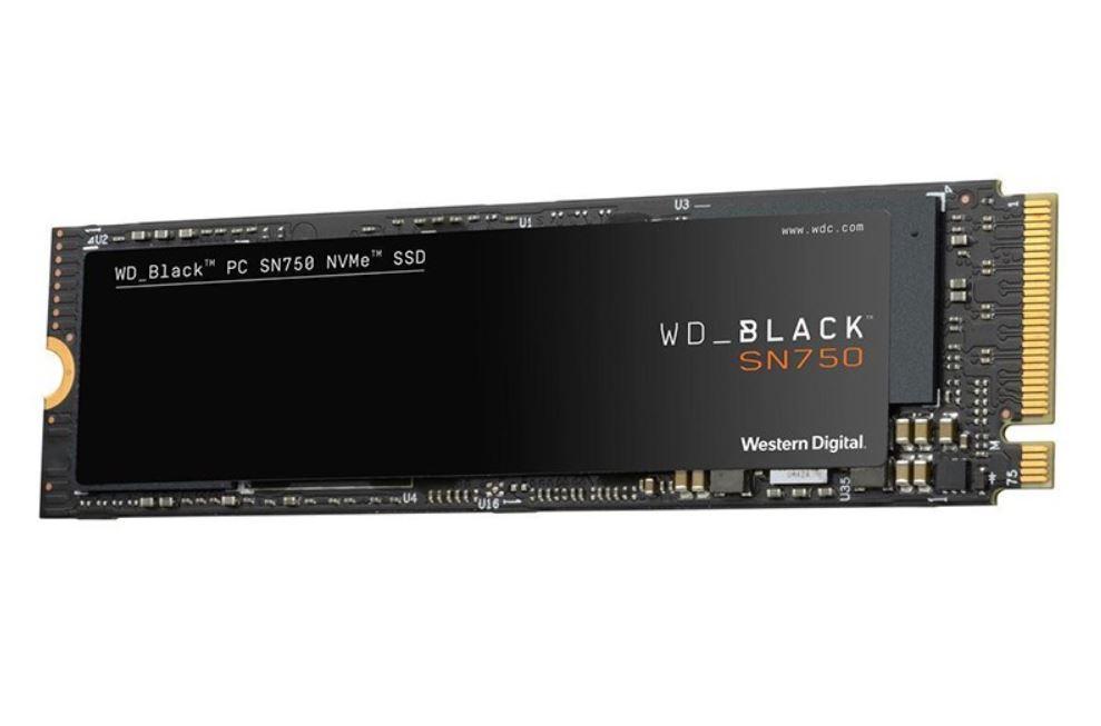 Western, Digital, WD, 500GB, Black, NVME, SSD, M.2,