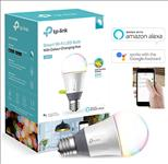 TP-Link, LB130, Smart, Wi-Fi, A19, LED, Bulb, 16, Million, Colors, Dimmable, Tunable, White, (2500-9000K), No, Hub, Required, 60W, Eq,