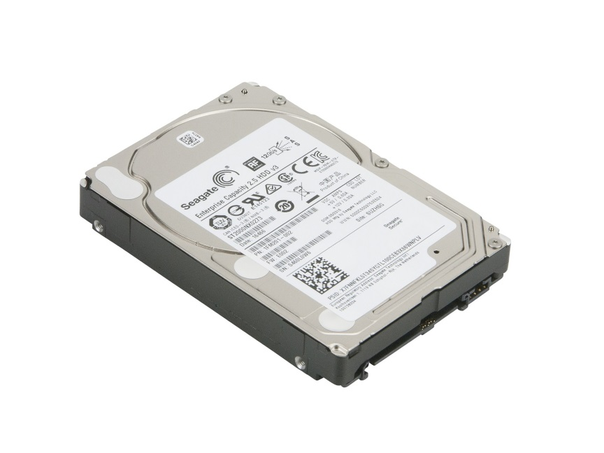 SEAGATE, EXOS, ENTERPRISE, 512E, INTERNAL, 2.5, SAS, DRIVE, 2TB, 6GB/S, 7200RPM, 5YR, Warranty,