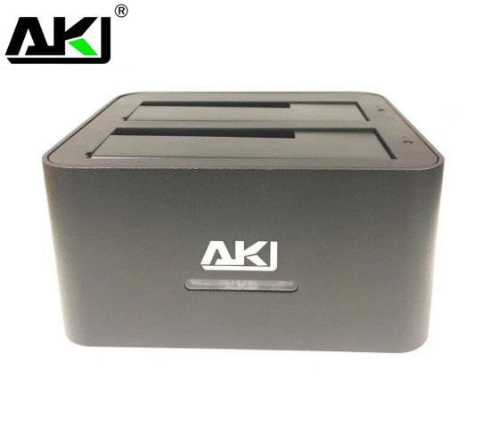 """KIMAX, Dual, 2.5""""/3.5"""", HDD, USB, 3.0, SATA, Clone, Dock, -, Silver,"""