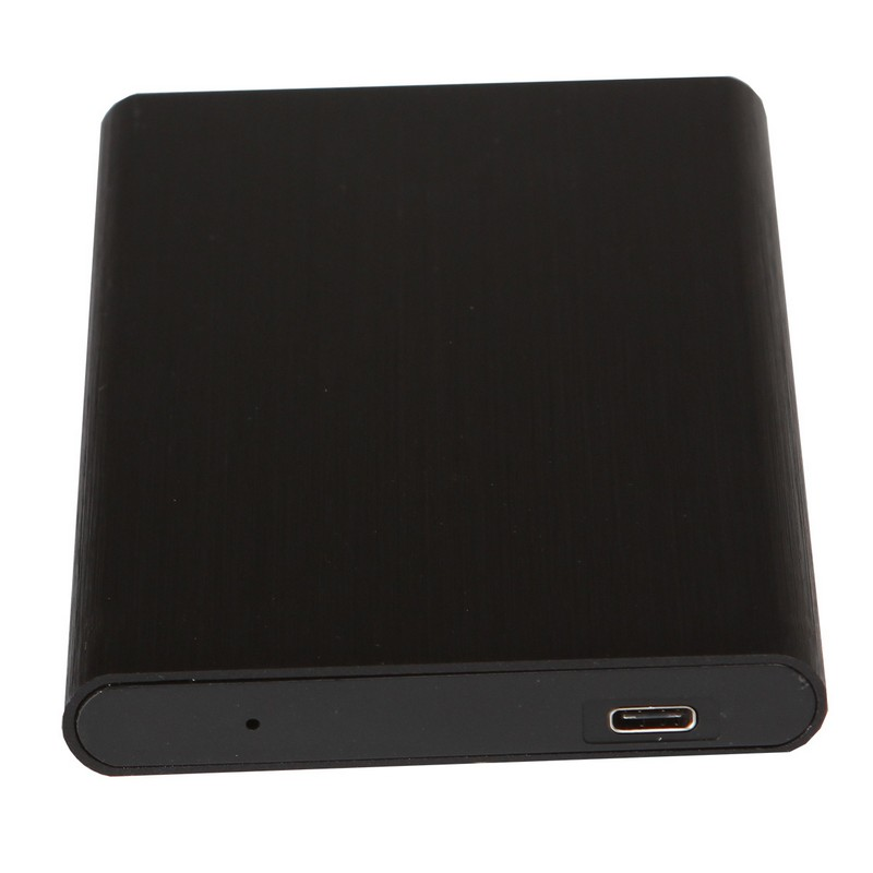Kimax, USB, 3.1, Type, C-, Type, C, 2.5, HDD, Black, Enclosure, Black,