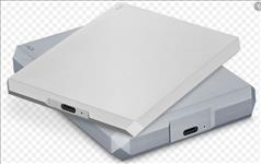 Seagate, LaCie, 5TB, 2.5, USB, 3, to, USB-C, Diamond, Cut, External, HDD., STHG5000400., 2, Years, Warranty,