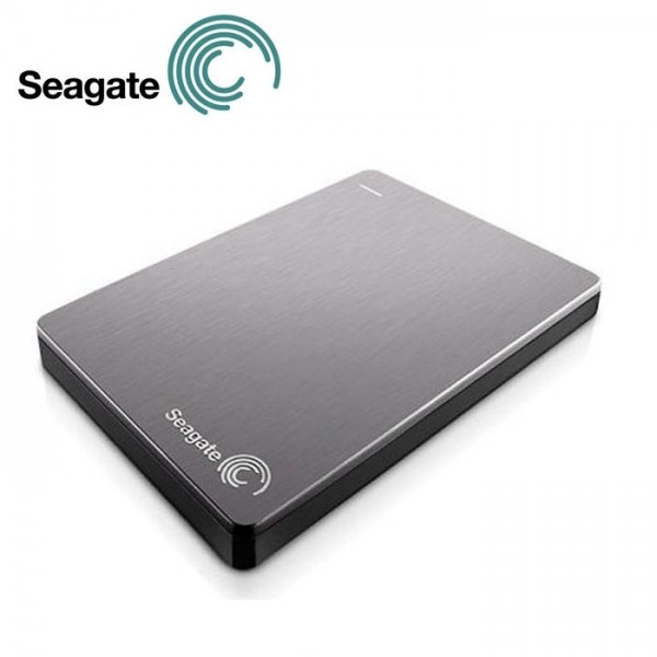 Seagate, Backup, Plus, 1TB, 2.5, Silver, USB3.0, Slim, Portable, Drive, (LS),