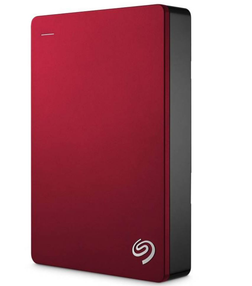 Seagate, Backup, Plus, 5TB, 2.5, Red, USB3.0, Backup, Plus, Portable, -, 2, Years, Warranty,