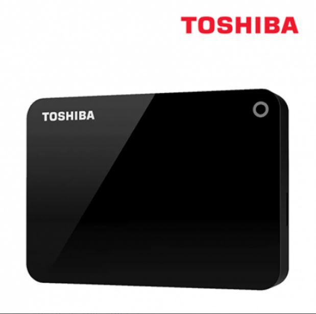Toshiba, 4TB, CANVIO®, ADVANCE, PORTABLE, HARD, DRIVE, STORAGE, BLACK., 3, Years, Warranty., (HDTC940AK3CA),