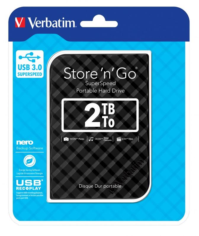 Verbatim, 2.5, Mobile, HD, 2TB,