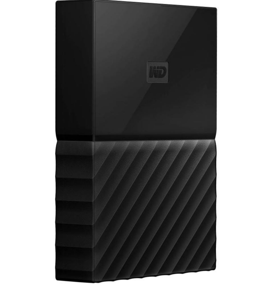 WD, My, Passport, Portable, 4TB, Black, 2.5, USB3.0., Built-in, 256-bit, AES, Hardware, Encryption, -, WDBYFT0040BBK-WESN,