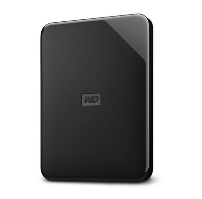 WD, Elements, 1TB, Portable, 2.5, USB3.0, Win/Mac, Sleek, Design, (WDBEPK0010BBK-WESN), 2, Years, warranty,