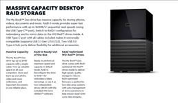 WD, My, Book, Duo, 8TB, Desktop, RAID, External, Hard, Drive, USB, 3.1, Gen2, Hardware, Encryption, -, Black., 3, Years, Warranty,