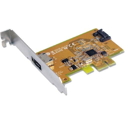 Sunix, SATA1616, PCI, Express, SATA, 3.0, Card, 6Gbit/s, -, 1, Internal/1, External, Port/2-Port, PCI, Express, RIAD, Controller,