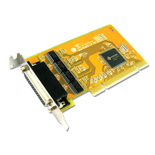 Sunix, SER5056AL, PCI, 4-Port, Serial, RS-232, Card, -, 4-port, RS-232, Universal, PCI, Low, Profile, Serial, Board,