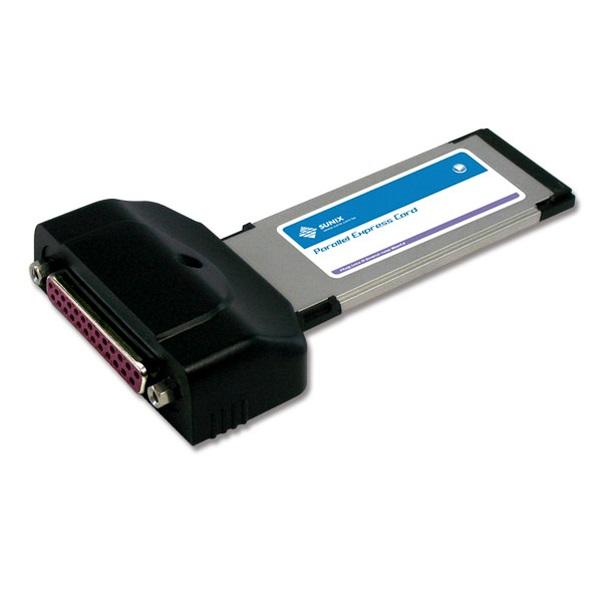 Sunix, ECP1000, 1-port, IEEE1284, Parallel, ExpressCard,