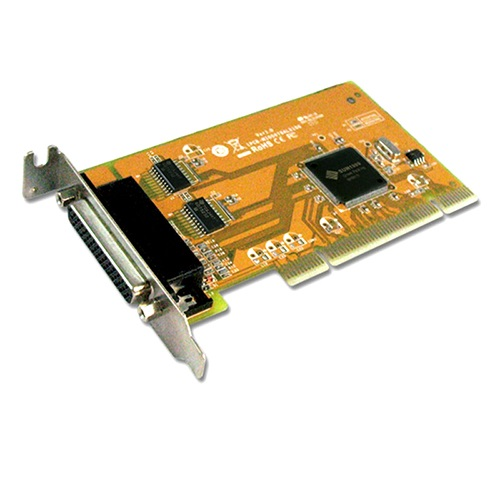 Sunix, MIO5079AL, PCI, 2-Port, Serial, RS-232, and, 1-Port, Parallel, IEEE1284, Card, -, Low, Profile,
