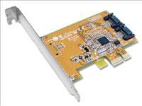 Sunix, SATA2600, PCIE, SATA, 3.0, Card, -, 2, Internal, Ports,