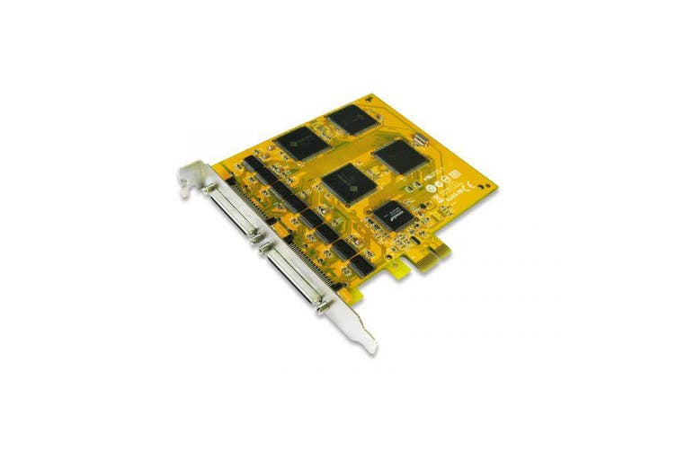 Sunix, 16-port, RS-232, High, Speed, PCI, Express, Serial, Board, 921.6Kbps, Support, Microsoft, Windows, Linux, and, DOS, (LS),