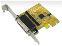 Sunix, 4, Port, PCIE, Serial, Card, RS232, Plug, N, Play, Full, Height,