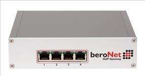 Beronet, 2x, BRI, 2xFXS, Gateway, Expandable, with, 1x, Add., Module,