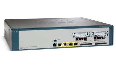 Cisco, UC560, 24user, w/4FXO, 1, 3x, L2, Gbit, 1x, VIC, 4x, FXO, (LS),