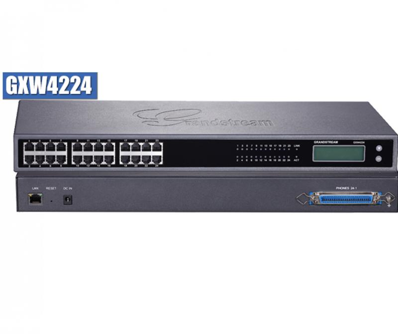 Grandstream, GXW4224, VoIP, gateway, w/, 24, telephone, FXS, ports,