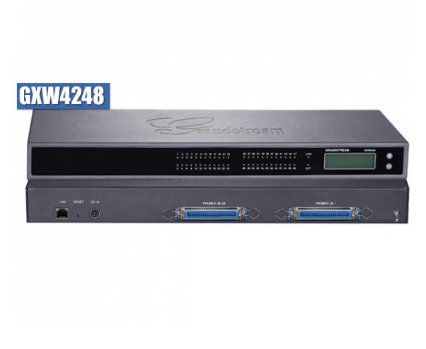 Grandstream, GXW4248, 48, Port, FXS, Analogue, VoIP, Gateway,