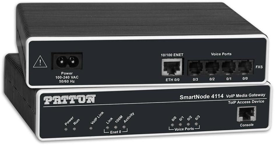 Patton, SN4141, -, SmartNode, VoIP, Gateway,