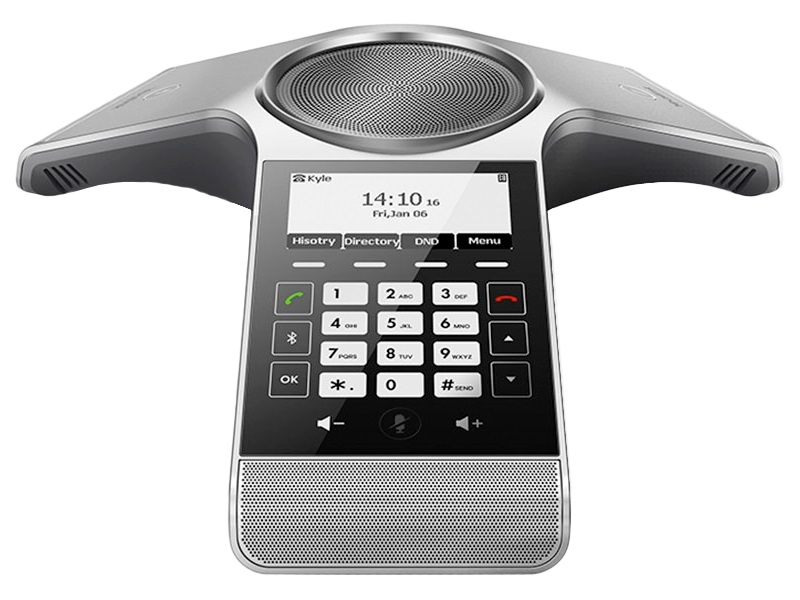 Yealink, CP930W, DECT, IP, Conference, Phone, Optima, HD, Voice, Full, Duplex, Built-in, Battery, Bluetooth, 4.0, Charging, Crad,