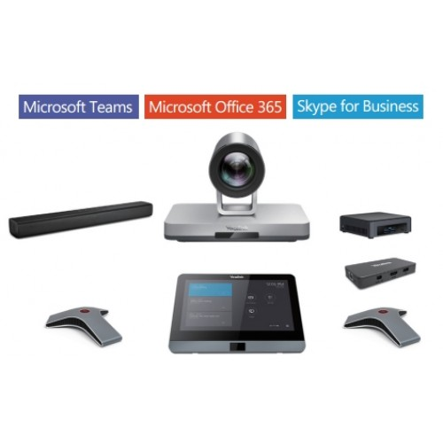 Yealink, MVC800, Video, Conferencing, Kit, for, Microsoft, Teams, for, Medium, and, Large, Rooms,