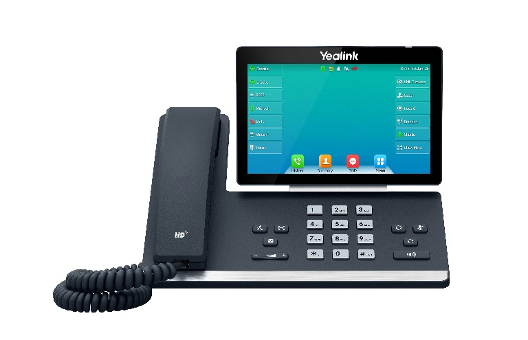 Yealink, SIP-T57W, -, Premium, Colour, Touchscreen, Gigabit, IP, Phone, with, inbuilt, WIFI, and, Bluetooth,