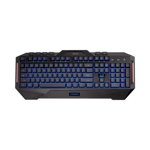 ASUS, Cerberus, Keyboard, MKII, Multi-color, backlit, gaming, keyboard, splash-proof,
