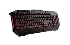 ASUS, Cerberus, Keyboard, LED, backlit, USB, gaming, keyboard, splash-proof,