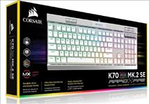 Corsair, K70, MK.2, MX, Speed, RGB, Backlit, RGB, LED, Mechanical, Brushed, Aluminum, frame, Keyboard., Leader, VIP, Exclusive,