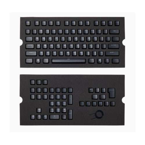 Corsair, Gaming, PBT, Double-shot, Keycaps, Full, 104/105-Keyset, -, Black,