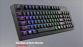 Coolermaster, Masterkeys, Pro, M, RGB, Mechanical, Keyboard, (Blue, switch), Software, &, Hardware, Programmable,