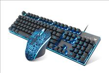 RAPOO, V100S, Backlit, Gaming, Keyboard, &, Optical, Gaming, Mouse, competitive, gaming, combo,