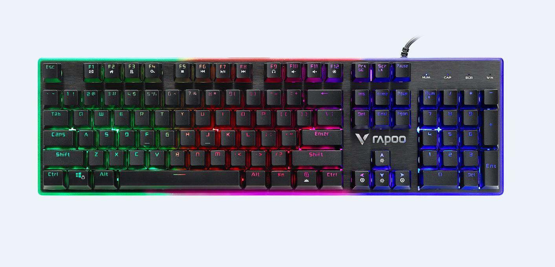 Rapoo, V520pro, Backlit, Mechanic-alike, Gaming, Keyboard,