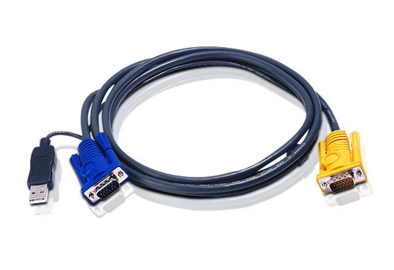 Aten, (2L-5202UP), USB, KVM, Cable, Length:, 1.8m,