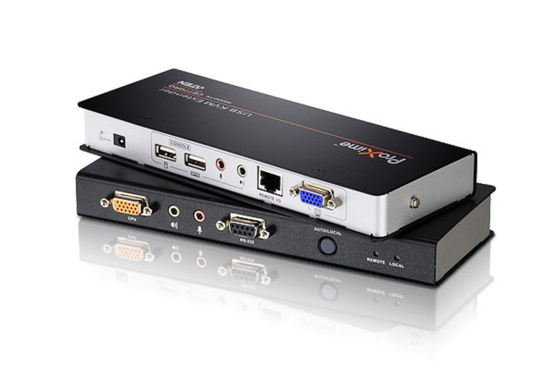 Aten, USB, VGA, KVM, Console, Extender, with, Deskew, Audio, &, RS232, -, 1920x1200,