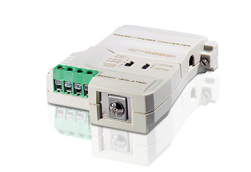 Aten, RS232, to, RS-485, Bi-directional, Converter, supports, point-to-point, multipoint, communication, simplex/duplex, connect,