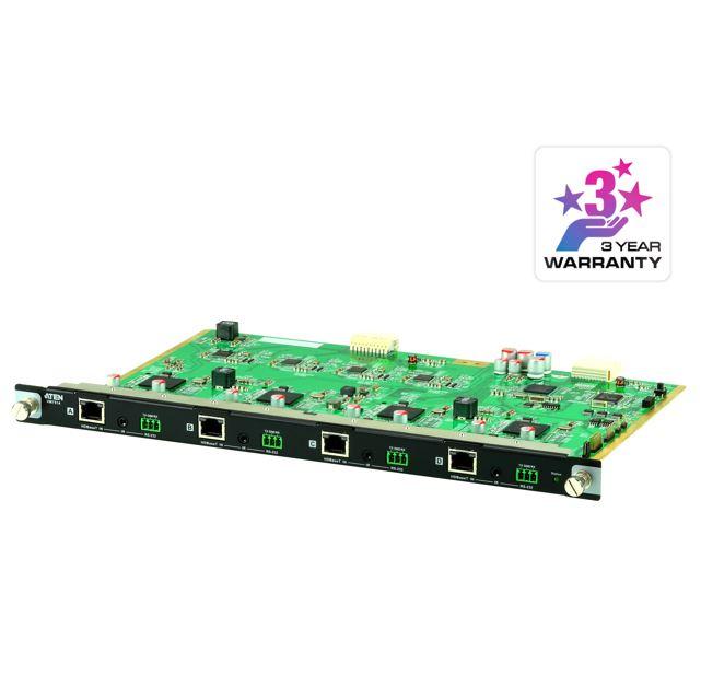 Aten, VM7514, 4, Port, HDBaseT, Input, Board, for, VM1600A/VM3200,