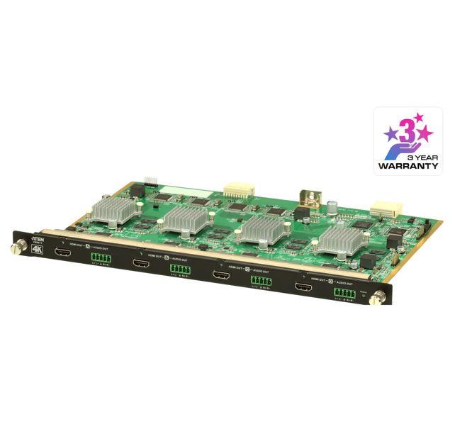 Aten, VM8814, 4, Port, HDMI, 4K, Output, Board, with, Scalar, for, VM1600A/VM3200,