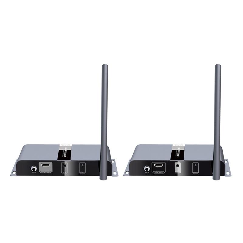 Lenkeng, HDMI, Wireless, 200, Metre, 4K, wireless, HDbitT, HDMI, Transmitter, &, Receiver, Kit, with, IR, with, 360°, IR,