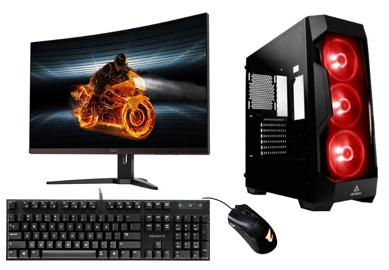 LEC, XTREME-8, Desktop, I7-9700KF, 16GB, DDR4, 500GB, SSD, +, 2TB, HDD, RTX2080, 8GB, Graphics, 31.5, monitor, WI-FI, Window, 10, Ho,