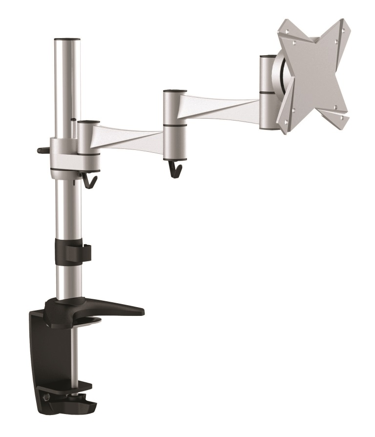Astrotek, Monitor, Stand, Desk, Mount, 43cm, Arm, for, Single, Display, 13, -34, 10kg, 15°, tilt, 180°, swivel, 360°, rotate, VESA, 75x7,