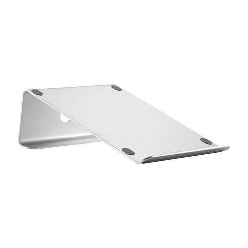 "Brateck, Tilted, Aluminum, Laptop, Stand, Compatible, with, Macbooks, most, 11-15"", laptops, and, tablets,"