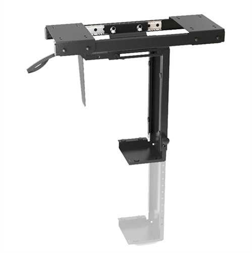 Brateck, ADJUSTABLE, UNDER-DESK, CPU, MOUNT, WITH, SLIDING, TRACK, Up, to, 10kg,