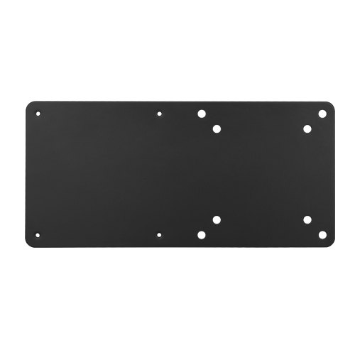 Brateck, Vesa, Compatible, NUC, mounting, bracket, up, to, 3kg, Black, colour, Steel, Material,