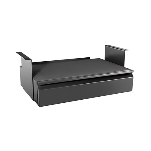 Brateck, Space-Saving, Under-Desk, Drawer, with, Shelf, Dimension, 513x311~481x187mm,