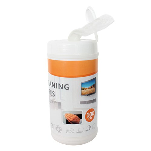 Brateck, Non-Woven, Cleaning, Wipe, 100pcs, For, LCD/LED, Displays, Including, Smartphones, Tablets, Laptops, TVs,